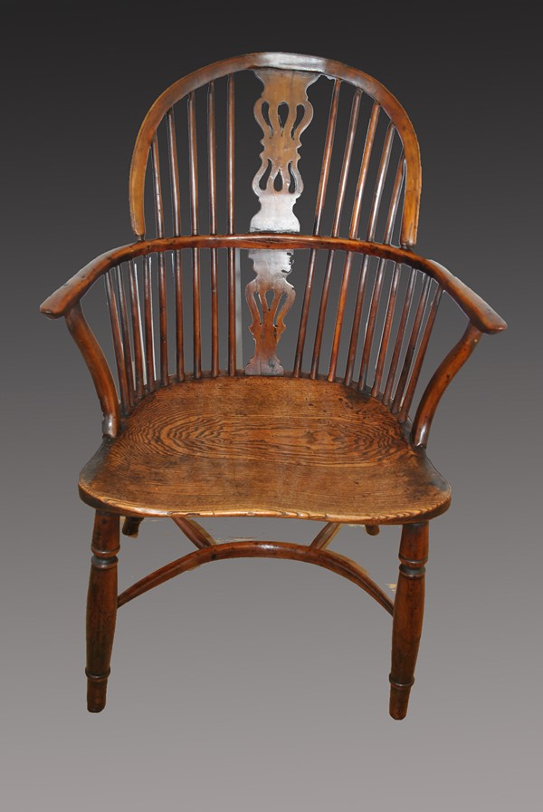 18th Centuary Windsor Chair After Restoration